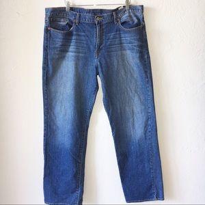 🍀 Sz 40 Waist Lucky Brand Straight Leg Jeans